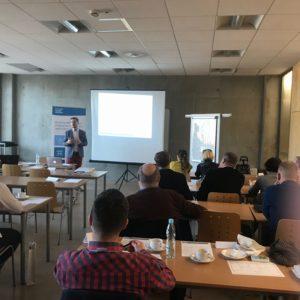 Grzegorz Bratek w roli eksperta podczas szkolenia eksportowego w Katowicach