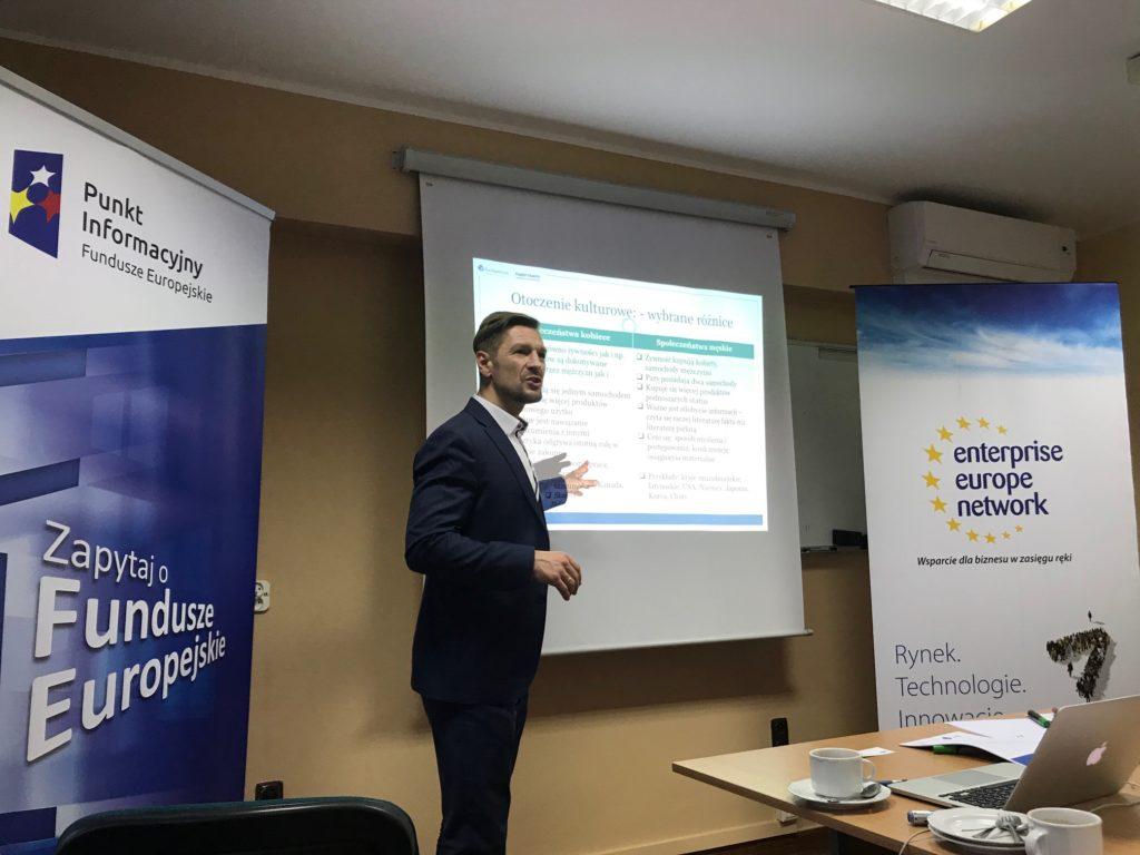 """Jak rozwijać działalność firmy by odnieść sukces na rynkach zagranicznych"""", 22.11.2018 r., Konin"""
