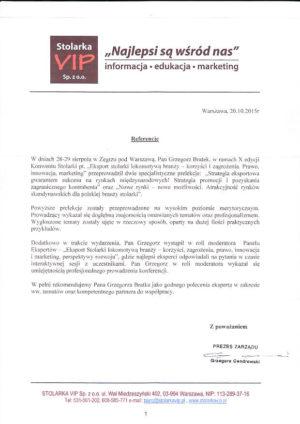 STOLARKA VIP szkolenia eksportowe opinia3