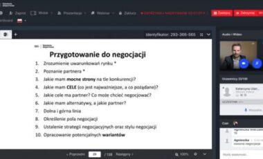 """""""Negocjacje i obrona ceny na rynkach zagranicznych"""", 06.10.2020 r., Olsztyn"""
